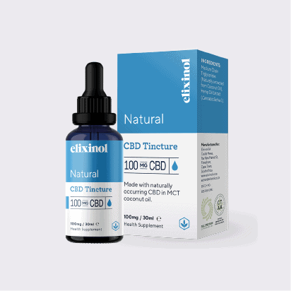 ELIXINOL CBD Natural 100mg Bottle 1
