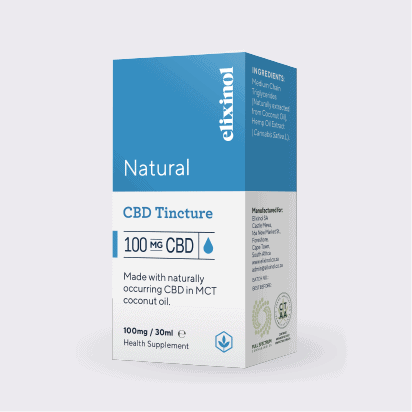 ELIXINOL natural CBD 100mg Box
