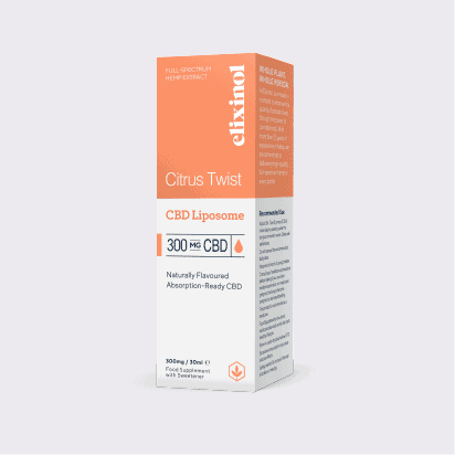 Elixinol liposome 300mg box
