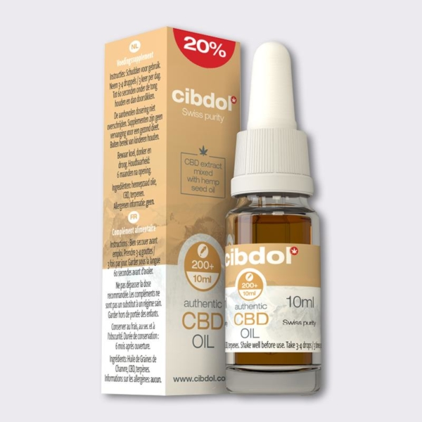Cibdol 20% 10ml CBD Oil