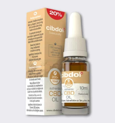 Cibdol 2000mg CBD oil 5