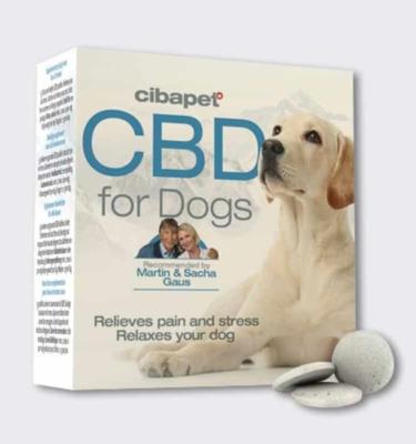 cbd pastilles for dogs pills in pic