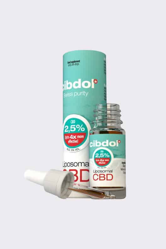Liposomal CBD Oil 10ml 2.5%