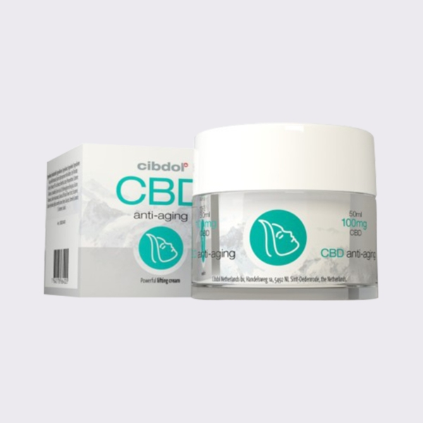 Anti-aging Cream with CBD