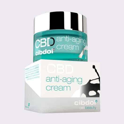 cbd anti aging cream front