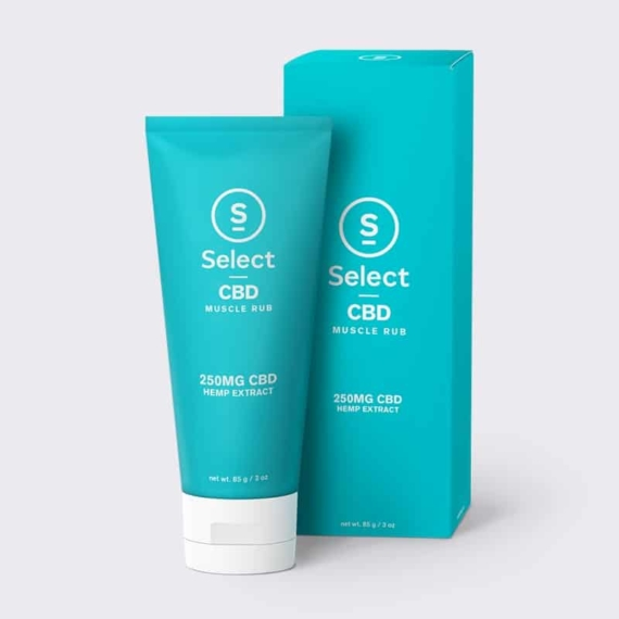 SelectCBD Muscle rub