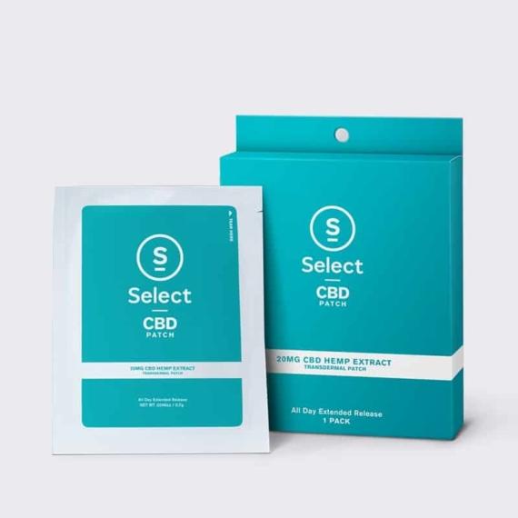 select cbd patch 20mg