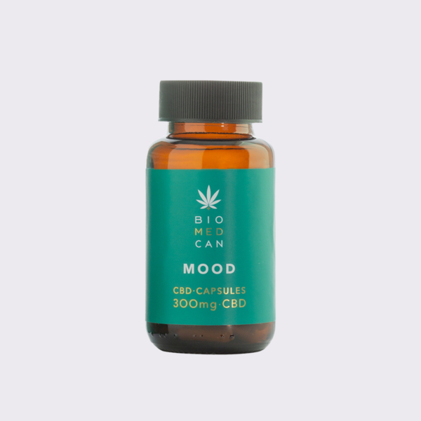 1 biomedcan mood cbd capsules 300mg bottle front 1000x1000 1