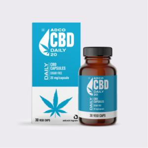 ADCO Daily CBD Capsules
