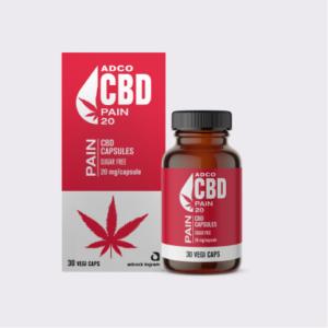 ADCO Pain CBD Capsules