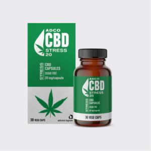 ADCO Stress CBD Capsules