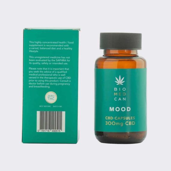 5 biomedcan mood cbd capsules 300mg bottle package back 1000x1000 1