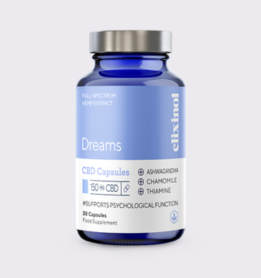 Elixinol Bottle Blended Dreams