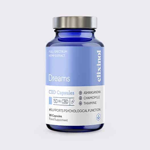Elixinol Bottle Blended Dreams