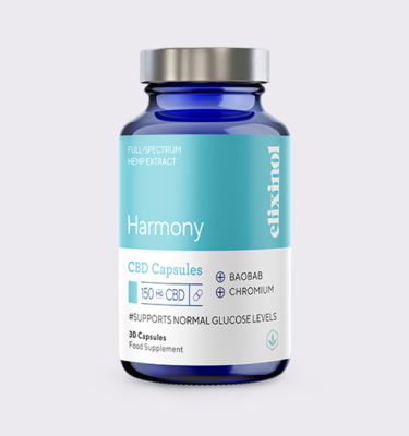 Elixinol Bottle Blended Harmony