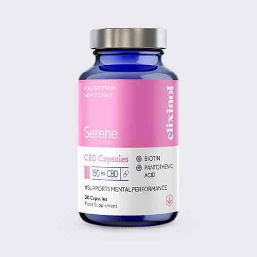 Elixinol Bottle Blended Serene