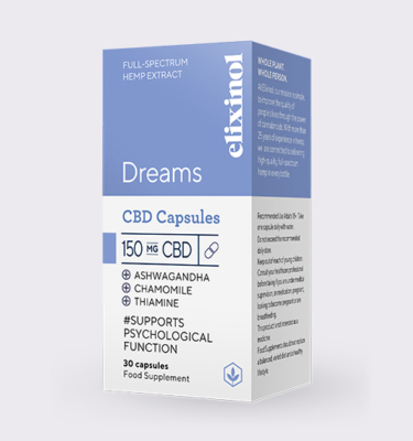 Elixinol Dreams box