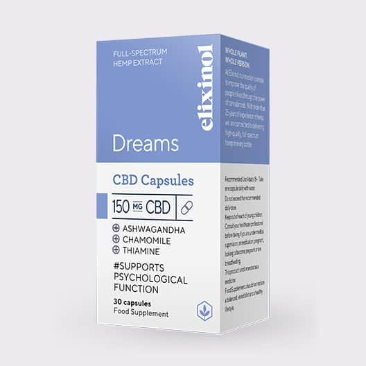 Elixinol Dreams box