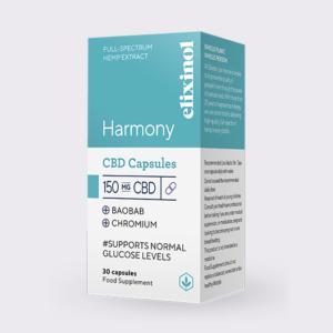 Elixinol Harmony CBD Capsules