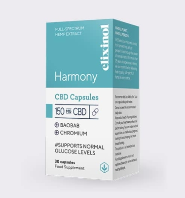 Elixinol Harmony box