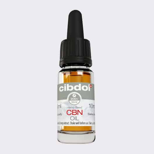 Cibdol CBN Oil bottle