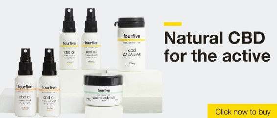 FourfiveCBD Banner Grey