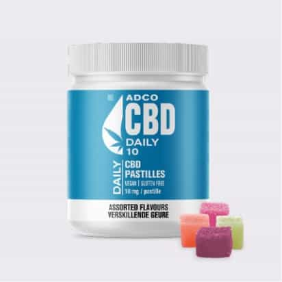ADCO CBD DAILY 10 (CHEWABLE PASTILLES)