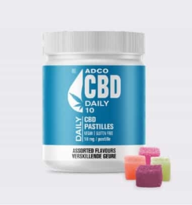 ADCO CBD DAILY PASTILLES