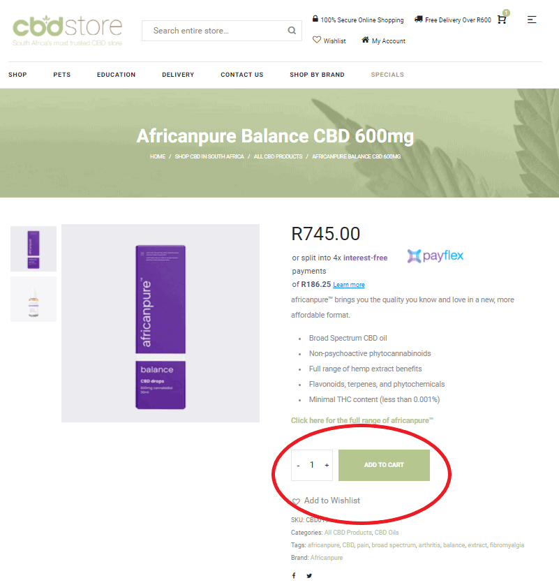 Step 1 how to order cbd revised