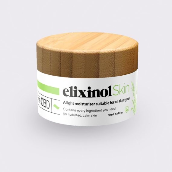 ElixinolSkin Day Cream Jar