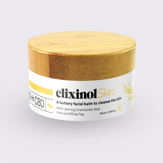 Elixinol Skin Cleansing Balm Jar