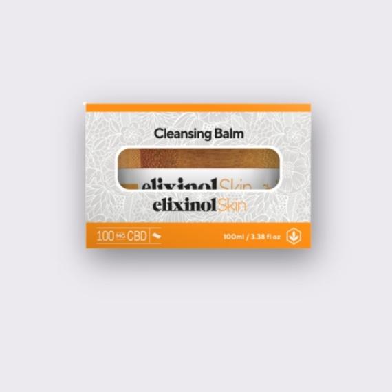 Elixinol Skin cleansing balm box