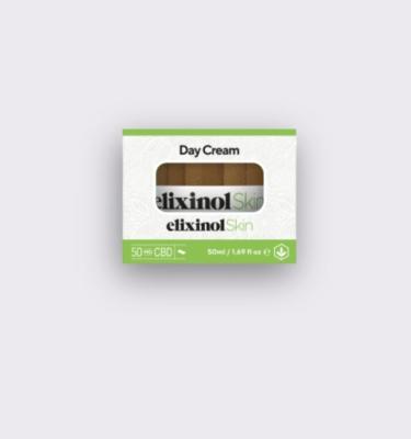 Elixinol Skin day cream box