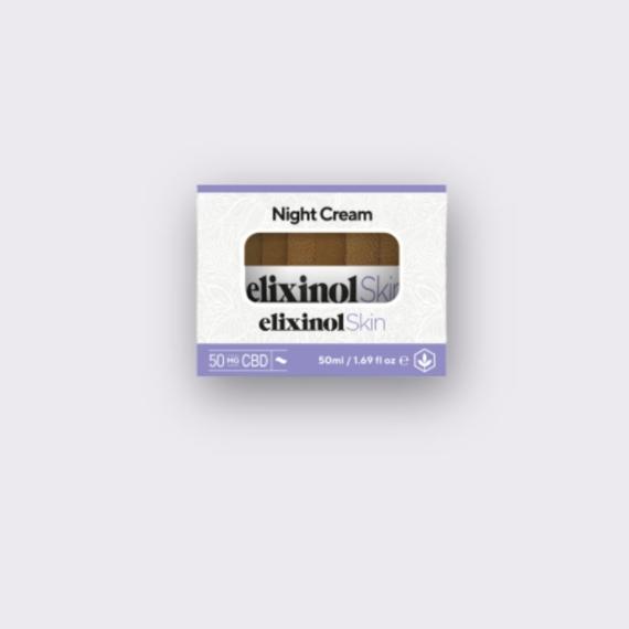 Elixinol Skin night cream box