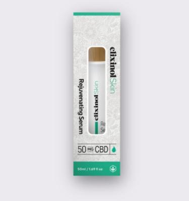 Elixinol Skin rejuvenating serum box