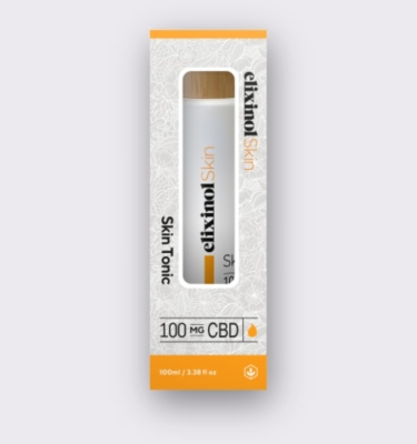 Elixinol Skin skin tonic box