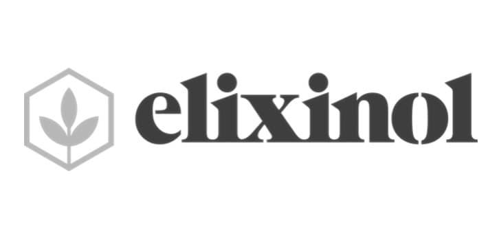elixinol black Logo