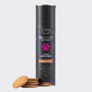 CBD-Infused Pet Treats-Peanut Butter